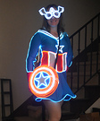 Mrs Captain America Glow