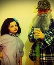 Ms. Kay and Uncle Si from Duck Dynasty Homemade Costume