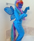 My Little Pony Rainbow Dash Homemade Costume