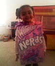 Nerds Candy Toddler Homemade Costume