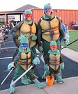Homemade Ninja Turtle costumes