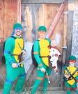 Ninja Turtles Family Costume