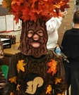 Homemade Oak Tree Costume