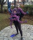 DIY Octopus Baby Costume