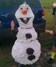 DIY Frozen Olaf Costume