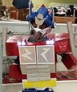 DIY Optimus Prime Halloween Costume