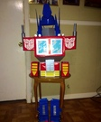 DIY Optimus Prime Costume for Boy