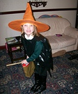 Orange Witch Homemade Costume