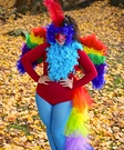 Animal costume ideas for adults - Homemade Parrot Costume