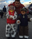 Paw Patrol Chase and Marshall Costumes