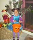 DIY Peacock Princess Costume