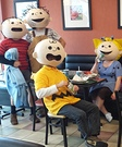 Peanuts Gang Homemade Costume