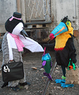 Penguin and Toucan Homemade Costumes