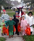 Peter Pan and the Crew Family Costume