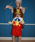 DIY Pinocchio and Gepetto Costume