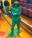 Plastic Army Man Costume Homemade