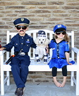 Bad Dog and Police Officers Costumes