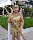 Poseidon Homemade Costume