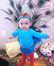 Animal costume ideas for babies - Pretty Peacock Baby Costume