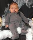 Pubert Addams Baby Homemade Costume