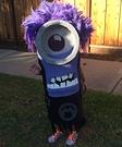 Homemade Purple Minion Costume