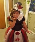 Queen of Hearts Girl's Costume