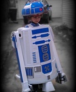 Homemade R2-D2 Costume