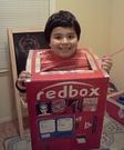Homemade Red Box Kiosk Costume