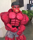 Red Hulk Homemade Costume