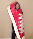 Red Shoe Homemade Costume