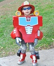 Rescue Bot Heatwave Homemade Costume