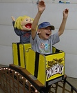 Riding a Roller Coaster Homemade Costume