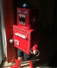 Red Robot Costume
