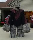 Rock Monster Homemade Costume