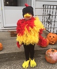 Rooster Homemade Costume