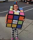 DIY Rubik's Cube Costume