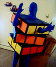 Rubix Cube Homemade Costume