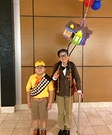 Russell and Mr.Fredrickson from Up Homemade Costume