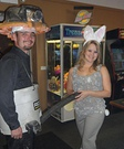 Shop Vac and Dust Bunny Halloween Costume Ideas for Couples