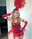 Vegas Showgirl Homemade Costume
