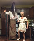 Horror movie costume ideas - Silent Hill Pyramid Head and the Faceless Nurse Costume