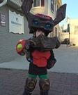 Skylander Tree Rex Costume