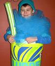 Slurpee Homemade Costume