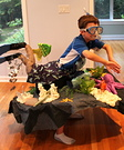 Snorkeler on a Reef Homemade Costume