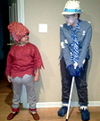 Snow Miser and Heat Miser Costumes