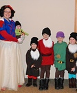 Snow White and the 7 Dwarfs and Prince Charming Family Costume