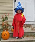 Homemade Sorcerer Mickey costume
