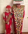 Spaghetti and Meatball and Pizza Homemade Costumes