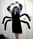 Homemade Spider Woman Costume