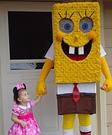 Spongebob Daddy and Bel Costume